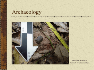 Archeology PowerPoint - Western Kentucky University