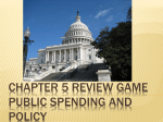 5 – Public Spending and Policy Review
