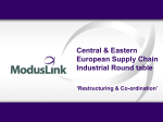 Central & Eastern European Supply Chain Industrial Round table