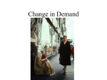 Change in Demand - Long Beach School for Adults