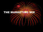 the marketing mix - Deans Community High School