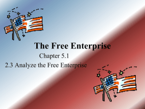 The Free Enterprise