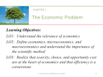 LO1: Understand the relevance of economics LO2 - McGraw-Hill