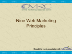 9 Web Marketing Principles