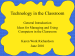 PowerPoint Presentation - Technology in Education