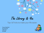 The Library & You