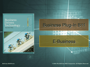 Business Plug-In B11 - Winthrop University, Rock Hill, SC