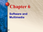 Chapter 6 Software and Multimedia - McGraw