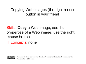 Copying Web images