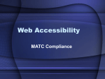 Web Accessibility - Madison Area Technical College