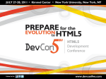 HTML5 and the future JavaScript platform