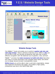 Website Design Tools fact sheet