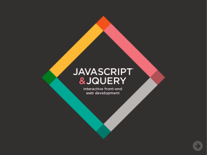 PowerPoint – JavaScript and jQuery – Introduction