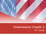 Dreamweaver Chapter 2