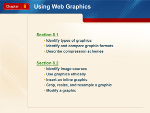 Chapter 8 Using Web Graphics