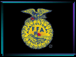 Selling Your FFA Chapter