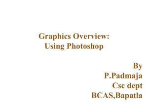 Photoshop Basics