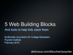 5 Web Building Blocks