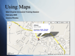 Maps - West Virginia University