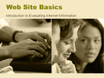 Web Site Basics - the School District of Palm Beach County