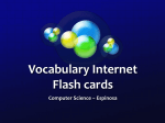 Tech Term Flash cards
