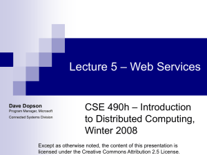 Lecture 5 - Guest Lecture