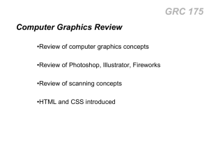 grc 175 intro - Computer Graphics Home