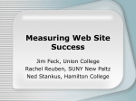 Measuring Web Site Success
