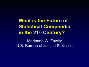 What is the Future of Statistical Compendia in the 21 st Century?