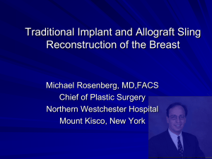 Minimally Invasive Techniques in Breast Surgery