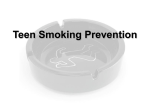 Teen Smoking Prevention