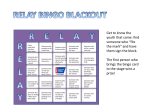 Relay Bingo Blackout
