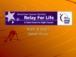 Relay For Life - Valdosta State University