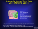 Understanding Cancer NIH slide 1