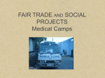 Medical Camps - Fair Trade Organic Teas.