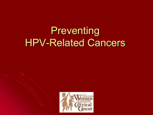 Presentation - Illinois Women Against Cervical Cancer