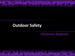 Outdoor Safety Ultraviolet Radiation