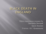 Black Dath in England