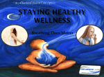 Staying Healthy Wellness