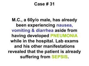Case # 31 MC, a 60y/o male, has already been