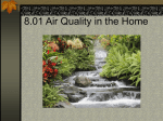 8.01 Air Quality in the Home