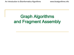 Updated slides on graph algorithms for DNA sequencing