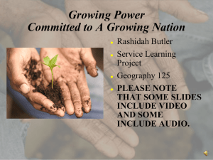 Growing Power Committed to A Growing Nation