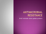 History of antibiotic discovery and concomitant development