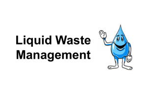 Liquid Waste Management Wastewater