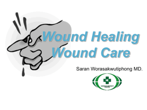 Wound Healing Wound Care - TOT e