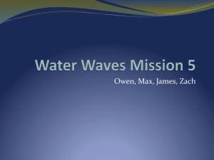 Water Waves Mission 5