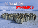 Populations of organisms do not experience linear growth. The