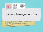 39. PERFORMING LINEAR TRANSFORMATION