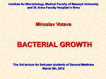 03_Bacterial_Growth_2012 - IS MU